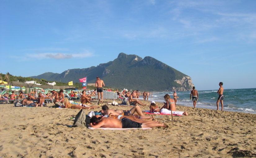 Sabaudia spiaggia e promontorio del circeo
